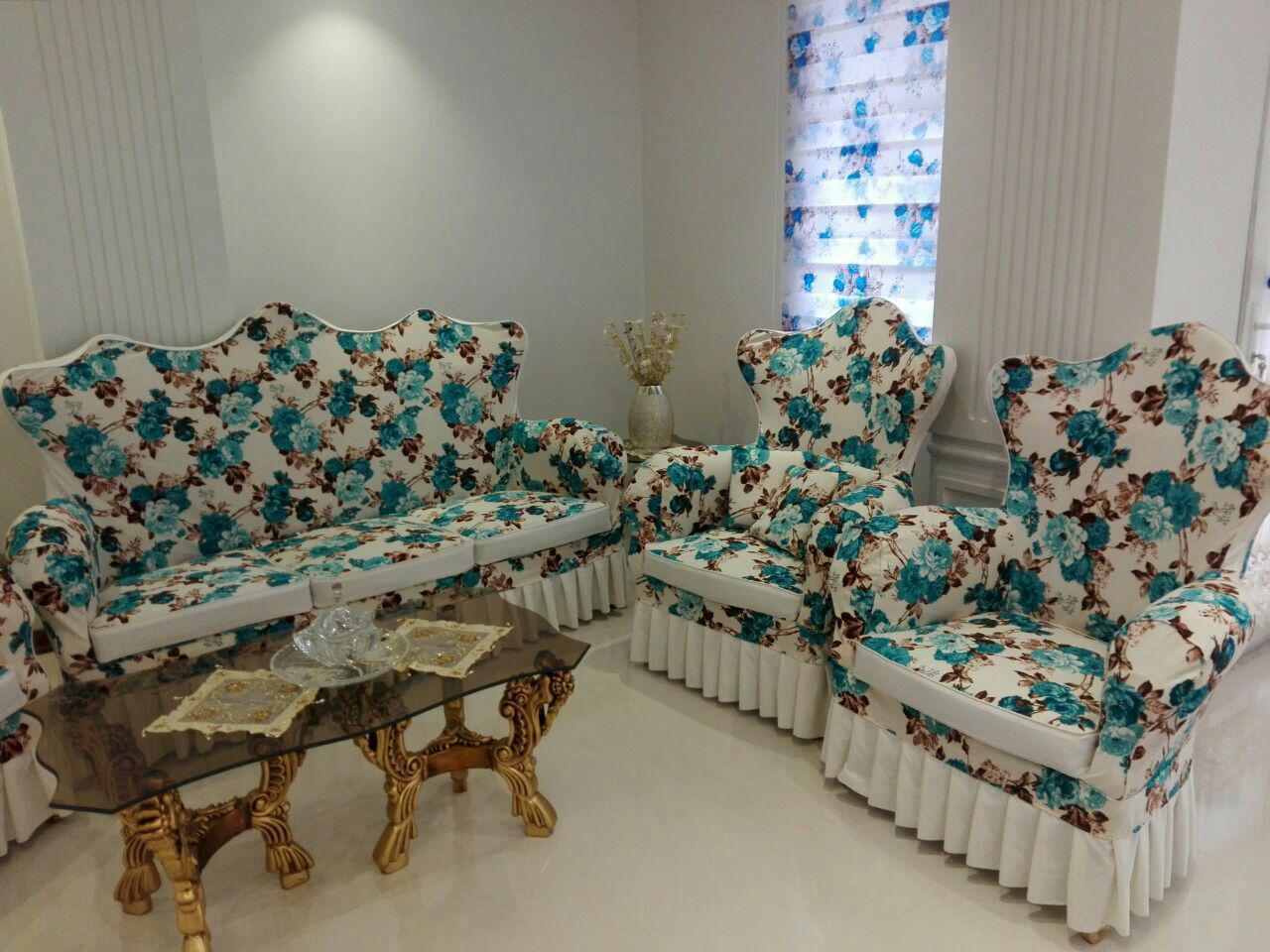 کاور مبل سلطنتی پارچه ای در اصفهان | گروه متخصص تعمیر و کاور مبلمان تکامبل اصفهان
